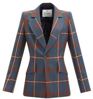Vivienne Westwood Lou Lou Tartan-checked Blazer - Multi