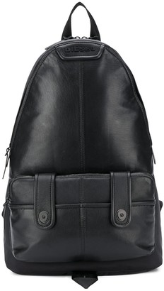 Diesel Paneled Backpack