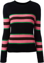 Chinti and Parker striped ribbed jumper - women - Silk/Cotton - XS