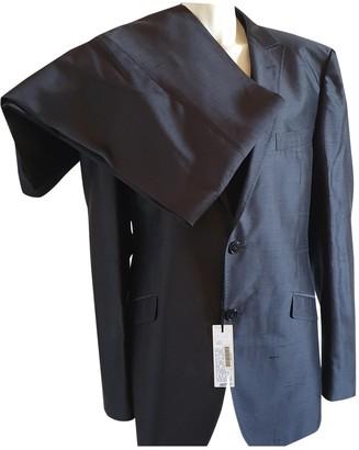 Versace Black Silk Suits