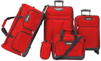 American Explorer Drake 5-Pc. Premium Softside Luggage Set