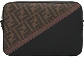 Fendi FF Monogram Diagonal Crossbody Bag