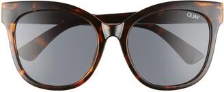 Quay It's My Way 55mm Cat Eye Sunglasses