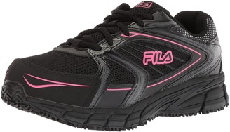 Fila Women's Memory Reckoning 8 Slip Resistant and Steel Toe Work Shoe