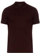 Lanvin Short-sleeved Cotton-piqué Polo Shirt