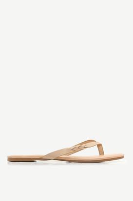 Ardene Faux Leather Flip-Flops