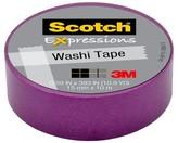 Scotch Washi Tape Purple 10Mx15Mm