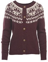 Woolrich Women's Snowfall Valley Cardigan Sweater