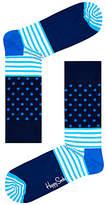 Happy Socks Stripe Dot Socks, One Size