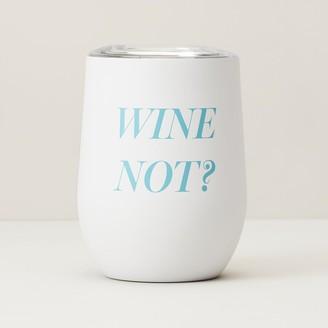 Indigo Wine Not Insulated Wine Glass