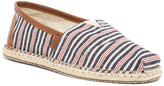 Toms Striped Classic Slip-On Espadrille