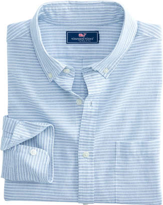 Vineyard Vines Slim Fit Kenepa Stripe Murray Shirt