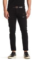 Hudson Broderick Coated Skinny Fit Jeans