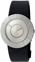 Issey Miyake 'To' Quartz Stainless Steel and Polyurethane Casual Watch, Color:Black (Model: SILAN003)