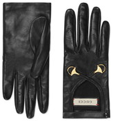 Gucci Horsebit Nappa Leather Gloves