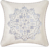 "Waterford Veranda Embroidered 18"" Square Decorative Pillow"