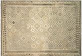 Nalbandian 9'6x6'6 Anput Flat-Weave Rug, Gray