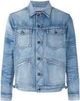 Tom Ford faded wash denim jacket - men - Cotton - XXL