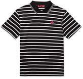 McQ Slim-Fit Striped Cotton-Piqué Polo Shirt