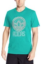adidas Mens Circle Trefoil Graphic Tee