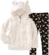 Juicy Couture Plush Jacket & Leggings Set