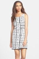 Print A-Line Dress