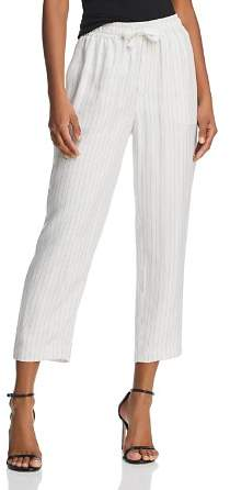 ATM Anthony Thomas Melillo Pinstriped Jogger Pants