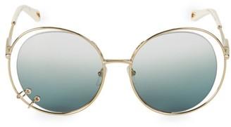 Chloé Wendy 59MM Round Sunglasses