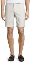 Peter Millar Salem High-Drape Performance Shorts, Soft Beige