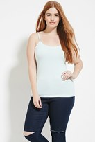 Forever 21 FOREVER 21+ Plus Size Classic Knit Cami