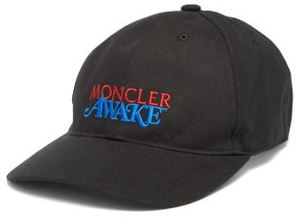 Moncler 2 1952 - X Awake Ny Logo-embroidered Baseball Cap - Mens - Black