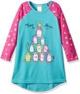Komar Kids Big Girls' Penguin Tree Nightgown