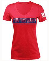 5th & Ocean Women's New York Giants Touchback LE T-Shirt