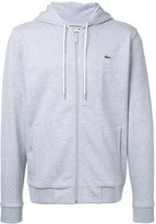 Lacoste zipped hoodie - men - Cotton - 5