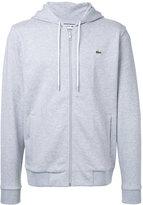 Lacoste zipped hoodie