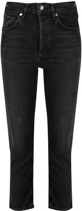 AGOLDE High-Rise Skinny-Cut Organic Cotton Jeans