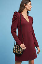 Donna Morgan Ruched-Sleeve Knit Dress