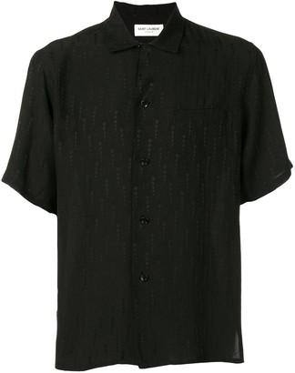 Saint Laurent star embossed shirt