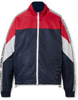 Opening Ceremony Warm Up Color-block Shell Jacket - Navy