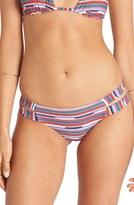 Billabong 'Seeing Stripes Isla' Cheeky Bikini Bottoms
