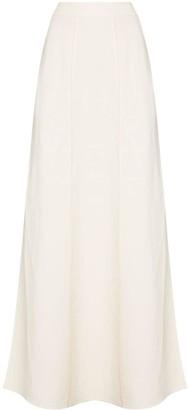Brunello Cucinelli Side Slit Maxi Skirt