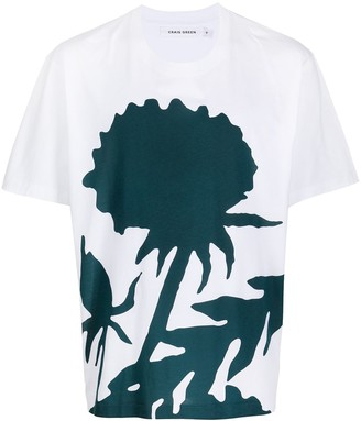 Craig Green colour-block print cotton T-shirt