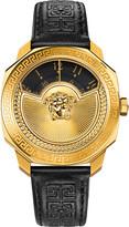 Versace VQU02 0015 Dylos leather watch