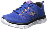 Skechers Flex Advantage, Boys' Multisport Outdoor Shoes, Blue (Ryor -Royal Orange), 13 Child UK (32 EU)