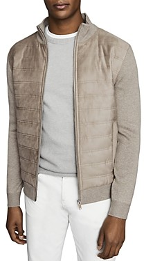 Reiss Bernardi Quilted Jacket