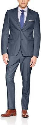 Calvin Klein Men's Mobridge Single Breast 2 Button Suit