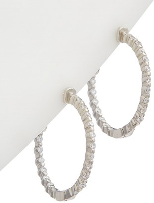 Alanna Bess Limited Collection Silver Classic Hoops