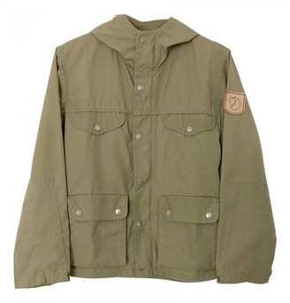 Fjallraven Green Polyester Jackets