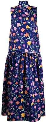 Plan C Drop-Waist Sleeveless Dress