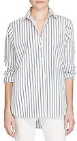 Lauren Ralph Lauren Striped Cotton Tunic